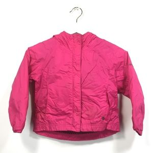 Columbia Jacket 4/5 Little Girls Lake Of Lace Pink